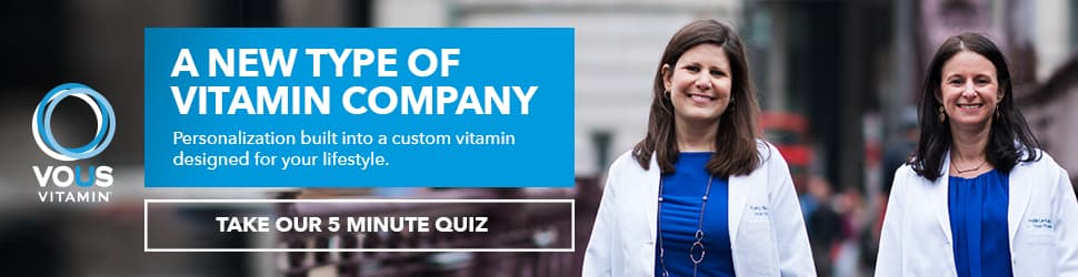 Take a quick quiz to get your personalized vitamin.
